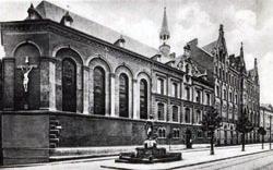 Ab dem 14.09.1848 erstes Mutterhaus Jakobstraße Ecke Klappergasse