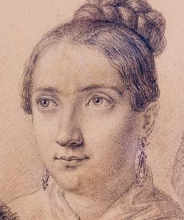 Clara Fey um 1835